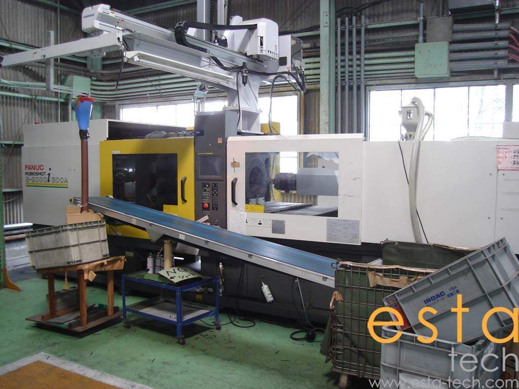 Fanuc Roboshot S-2000 i300A (2005) Injection Molding Machine